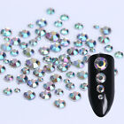Flat Bottom 3D Nail Decoration In Wheel Clear Nail Atr Rhinestone Round Decor