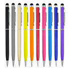 1-10X 2 in1 Touch Screen Stylus Ballpoint Pen for iPad iPhone Samsung Tablet Ct