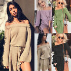 Women Fashion Long Sleeves 4 Colour Sweater Sweater Bootshals Dress with Belt