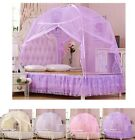 Hight QC Bed Canopy Mosquito Net Tent  For Single King Super King Bed All Sizes