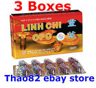 3x LINH CHI reduces cholesterol Enhances liver function and detoxifies the liver