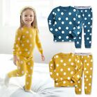 "Vaenait Baby Toddler Kids Girls Clothes Pyjama Set ""Candy Blue Mango "" 12M-7T"