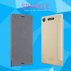 100$Genuine Nillkin PU Leather Flip Thin Cover Case For Sony Xperia XZ1 /Compact