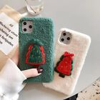 Cute Bear Fluffy Fuzzy Plush Soft Rabbit Fur Case Cover For iphone X 8 7 Plus 6s