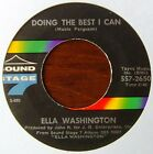 ELLA WASHINGTON - Doing the best I can / Sweeter and sweeter - Sound Stage 7