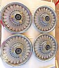 1965+1966+1967+Mercury+Comet+Cougar+Wire+Spinner+14%22+Hubcaps