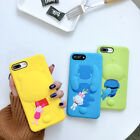 Cartoon Disney Stitch winnie pooh silicone case Cover for iPhone 8 X 7 6 6S Plus