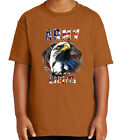 Army Eagle Est 1775 Kid's T-shirt Patriotic US Army Tee for Youth - 1877C