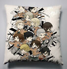 NEW Shingeki no Kyojin Attack on Titan Sofa Pillow Cushion Double Side 40x40CM