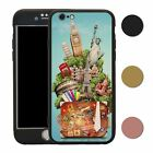 Travel Holiday Adventure 360° Case & Tempered Glass Cover For iPhone - S4742