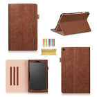 "For Amazon Fire HD 10 (7th Gen) 10.1"" 2017 Smart Leather Luxury Case Stand Cover"