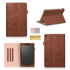 """For Amazon Fire HD 10 (7th Gen) 10.1"""" 2017 Smart Leather Luxury Case Stand Cover"""