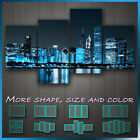 Chicago At Night Stretched Canvas ~ 4 Panels