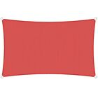 Sun Shade Sail Red Permeable Canopy Lawn Patio Pool Garden Deck Cover 8x8 24x24