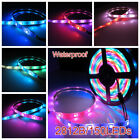 WS2812B 5050 RGB LED Strip 5M 30/60144 LED/M Individual Addressable 5V Lighting