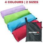 Microfibre Adtrek Travel Towel Sports/Gym/Swimming/Camping/Yoga Large & XL