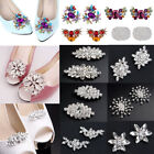 Diamante Crystal Bridal Wedding High Heel Shoe Clips Charm Decoration Pairs