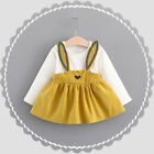 Toddler Baby Kids Girl Long Sleeve Princess  Dress Wedding Party Gown Prom Dress