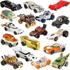 Set Of 12 Hot Wheels Die Cast Star Wars Character Cars Toys Action Figures