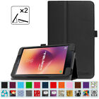 Folio Leather Case Stand Cover For Samsung Galaxy Tab A 8.0 SM-T380 / T385 2017