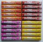 HALLS SOOTHERS - 5 x 45g Packs. 4 Flavours to Select OR Pick Your Own.