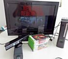 X Box 360 120 GB HDD Kinect 8 Games Included No Remote