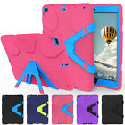 Shockproof Hybrid Rubber Rugged Case Cover Stand For Apple iPad 2017 9.7 5th Gen