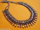 Beautiful .925 Silver Oxidized Plated Metal traditional Necklce Jewel NK033