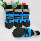 Waterproof Large Dog Shoes Boots Bootie Reflective Anti-slip Socks Paw Protector
