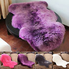 Soft Faux Fur Sheepskin Rugs Hairy Carpet Mat Anti Slip Fluffy Rug Mats Washable