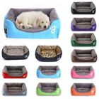 US Large Pet Dog Cat Bed Puppy Cushion House Soft Warm Kennel Mat Blanket
