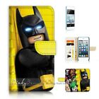 ( For iPod Touch 5 ) Wallet Case Cover P21170 Batman
