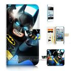 ( For iPod Touch 5 ) Wallet Case Cover P21171 Batman