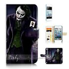 ( For iPod Touch 5 ) Wallet Case Cover P21178 Joker