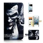 ( For iPod Touch 5 ) Wallet Case Cover P21182 Joker