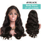 Pre Plucked 613C Blonde Human Hair Wigs Lace Front Full Wig Straight Wavy US 7e2