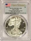 2017 S PROOF SILVER EAGLE PCGS PR70 FLAG FROM LIMITED EDITION PROOF SET