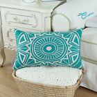Rectangle Pillow Throw Cushion Cover Medallion Geometric Home Car Decor