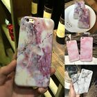 back cover for iphone 5 - For iPhone 7 6 6s Plus Marble Stone Printed Soft Shockproof Slim Back Case Cover