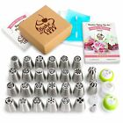 Russian Piping Tips Set Icing Nozzles Pastry Kit Decoration 23/41/55 Pc