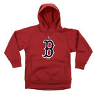 MLB Youth Boston Red Sox FLC Baseball Team Logo Pullover Hoodie on Ebay