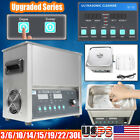 3-30L Stainless Steel Industry Ultrasonic Cleaner Heated Cleaning Tank Machine