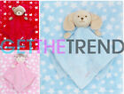 Newborn Baby Blanket Babies Teddy Bear Comforter Unisex Boys Girls Soft Toy Gift