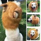 Pet Costume Lion Mane Wig Hair for Dog Halloween Clothes Dress Up New J