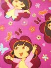 Dora the Explorer bthy Cotton Fabric by the half yard Monkey Boots pink FQ Fat
