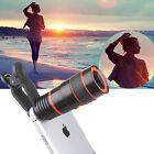 8X Zoom Optical Clip-on Telescope Phone Camera Lens For All Cell Phone / Tablet