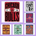 NBA Licensed Clear Out Micro Raschel Fleece Afghan Throw Blanket - Choose Team on eBay
