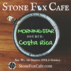 Morning Star Costa Rican Coffee Stone Fox ~FREE SHIP Fresh Roast Ground to Order