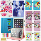 Cute Unicorn Pattern Smart Leather Wallet Case Cover For Ipad 4 5th/air/pro/mini