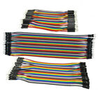 40pc Breadboard Dupont Jump Wire M-M/M-F/F-F 10/20/30cm Jumper Cable Lead 2.54mm